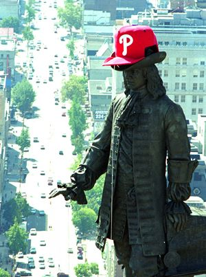Please Put A Phillies Hat On The William Penn Statue With Images Phillies