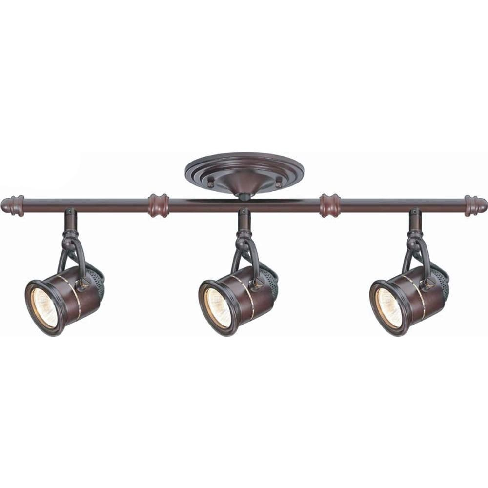 Light Antique Bronze Ceiling Bar Track
