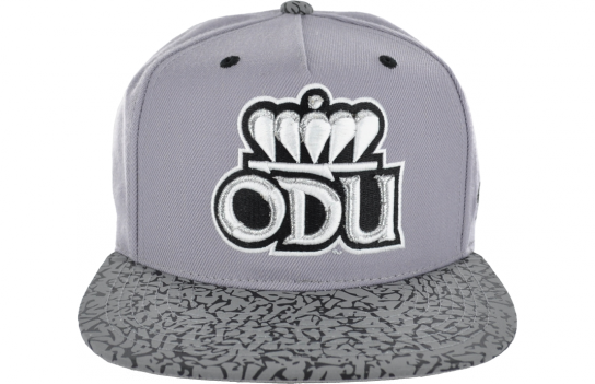 75d42d71c0fc1 Zephyr Old Dominion University Snapback Features  Custom colorway to match  with the Air Jordan Retro