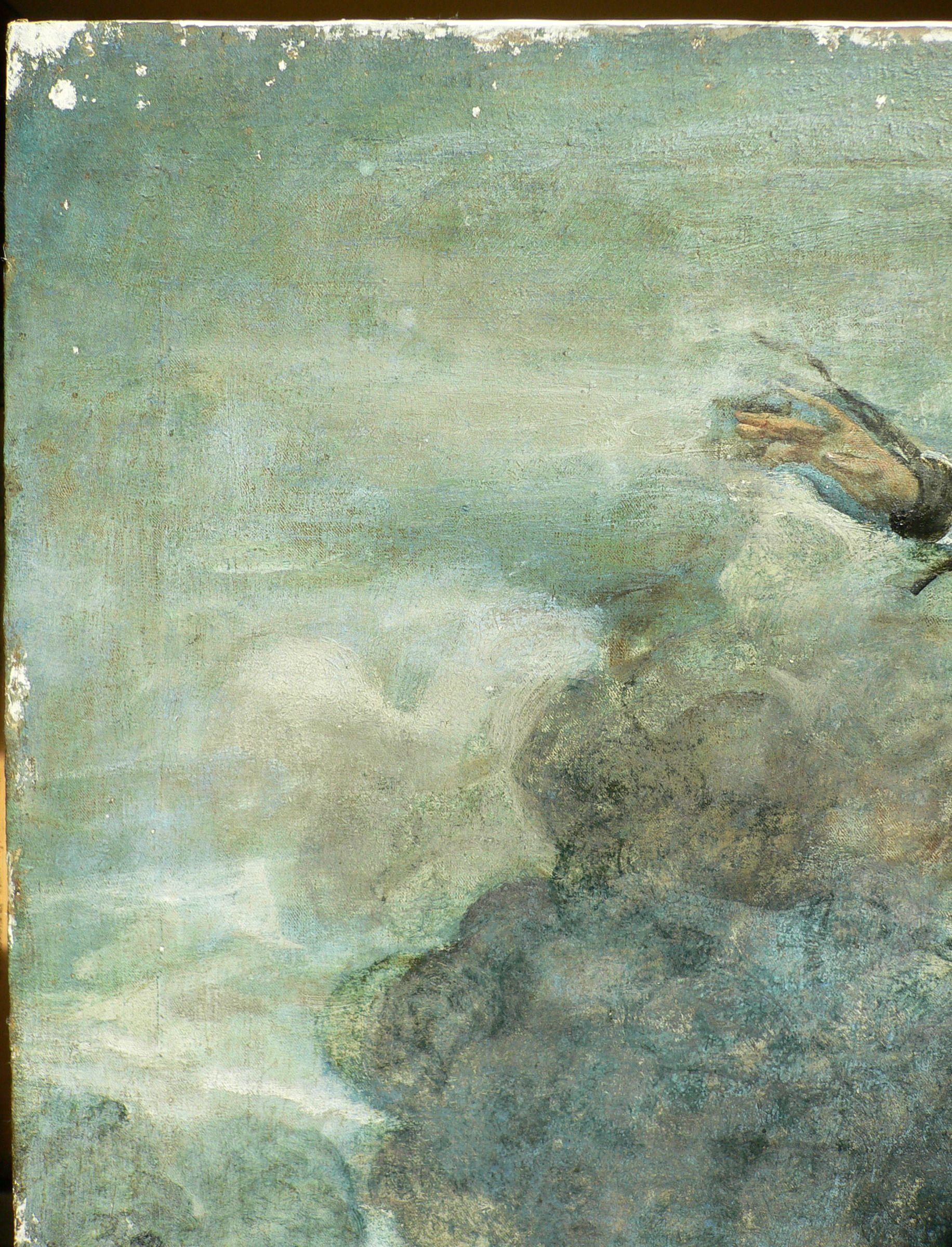 Jacopo Robusti Detto Tintoretto Sant Agostino Risana Gli