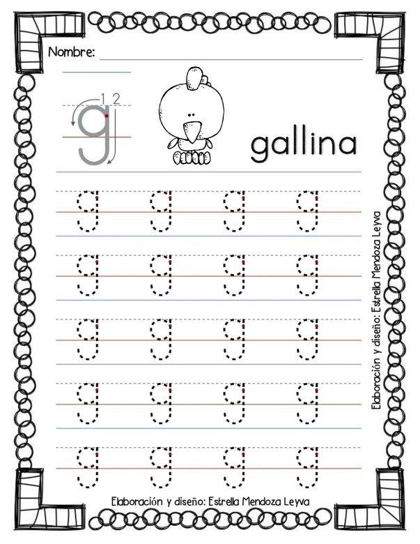 Libro De Grafomotricidad Todas Las Letras En Trazos Letras 2