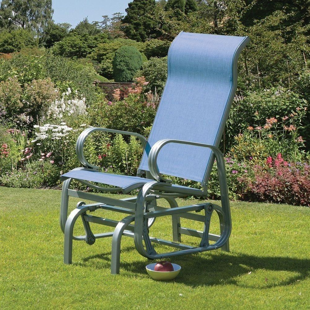 Rocking Garden Chair Outdoor Rocker Chairs Patio Poolside Armchair Furniture & Rocking Garden Chair Outdoor Rocker Chairs Patio Poolside Armchair ...