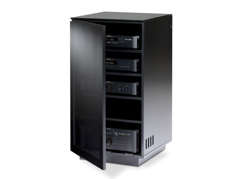 Bdi mirage 8222 gloss black tv hifi hifi