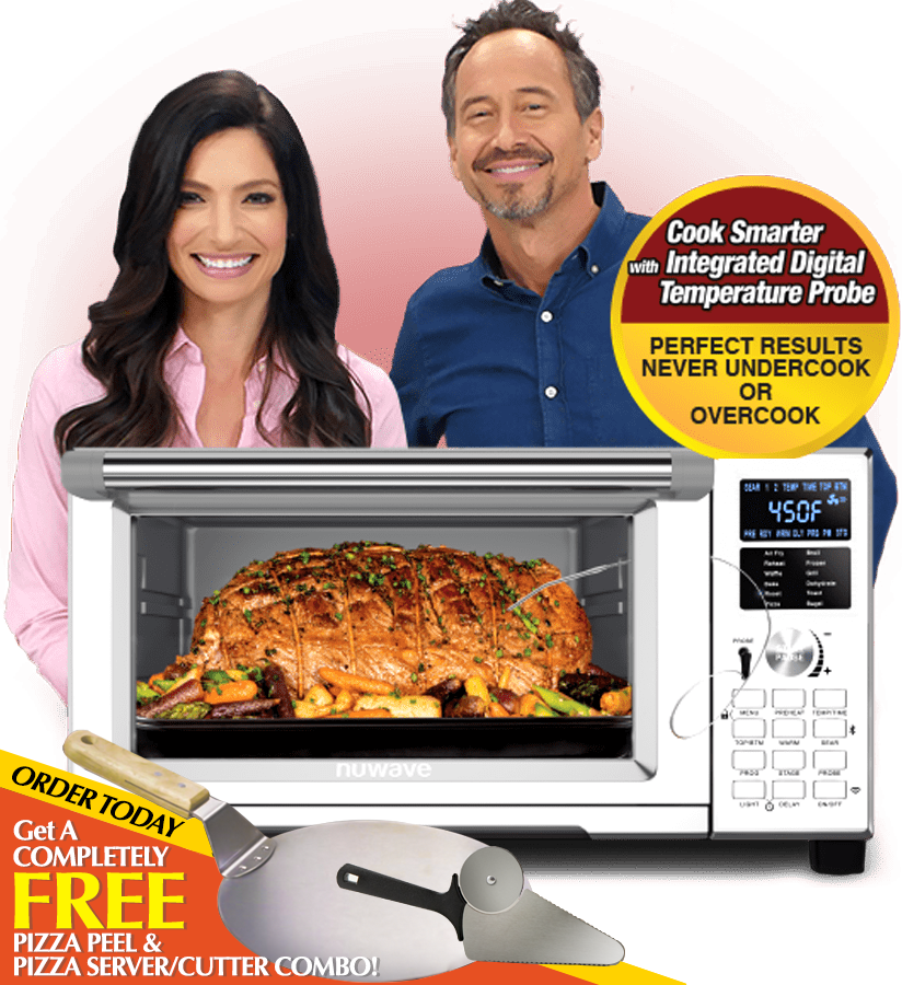 Nuwave Bravo Xl Air Fryer Oven The Countertop Home Oven Oven Nuwave