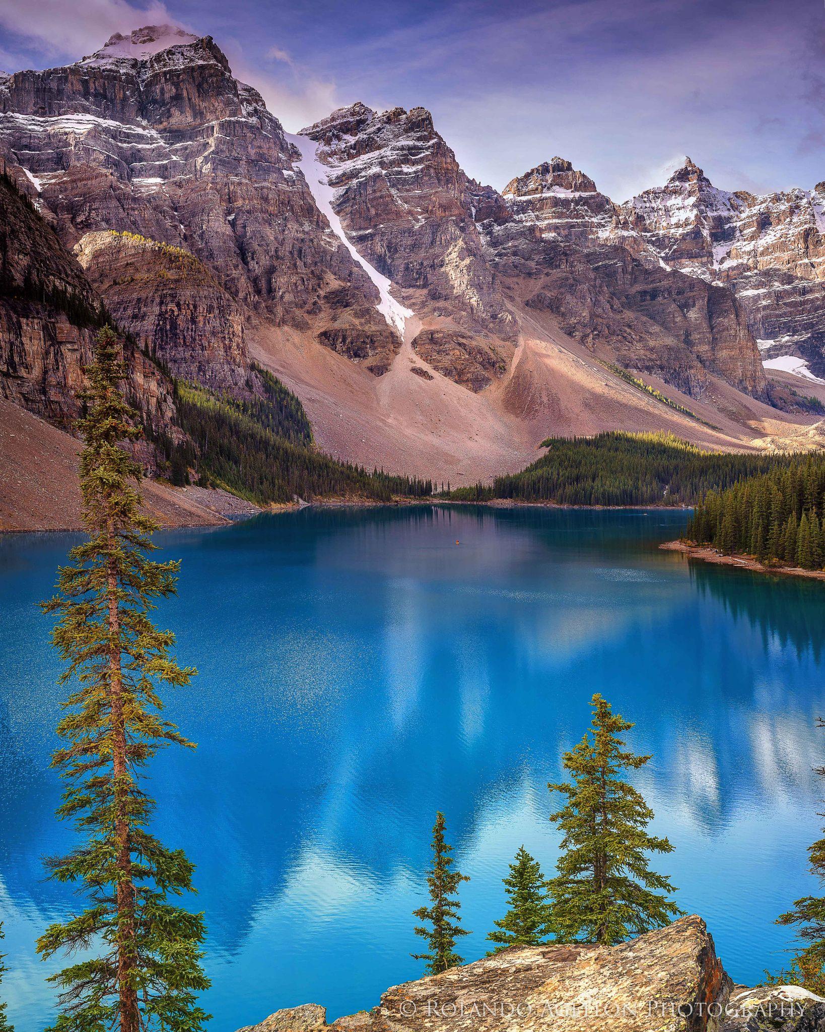 Moraine Lake Alberta Canada My Take On The Classic