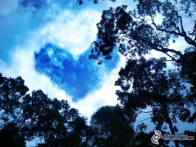 Cœur dans le ciel
