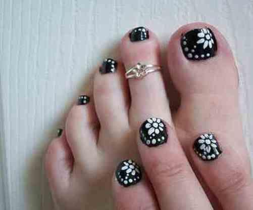 Cute toenail designs for short nails nail art steals pinterest cute toenail designs for short nails prinsesfo Gallery