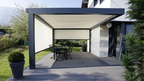 Biossun-180 | Biossun Terrassenüberdachung 180 #pergolawithroof #Überdachungterrasse