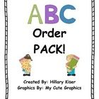 Excellent+Pack+for+teaching+(and+practicing)+ABC+order+with+your+students.+  Pack+Includes:  3+Cut+and+Glue+Activities+for+ABC+Order 3+ABC+Order+Ch...