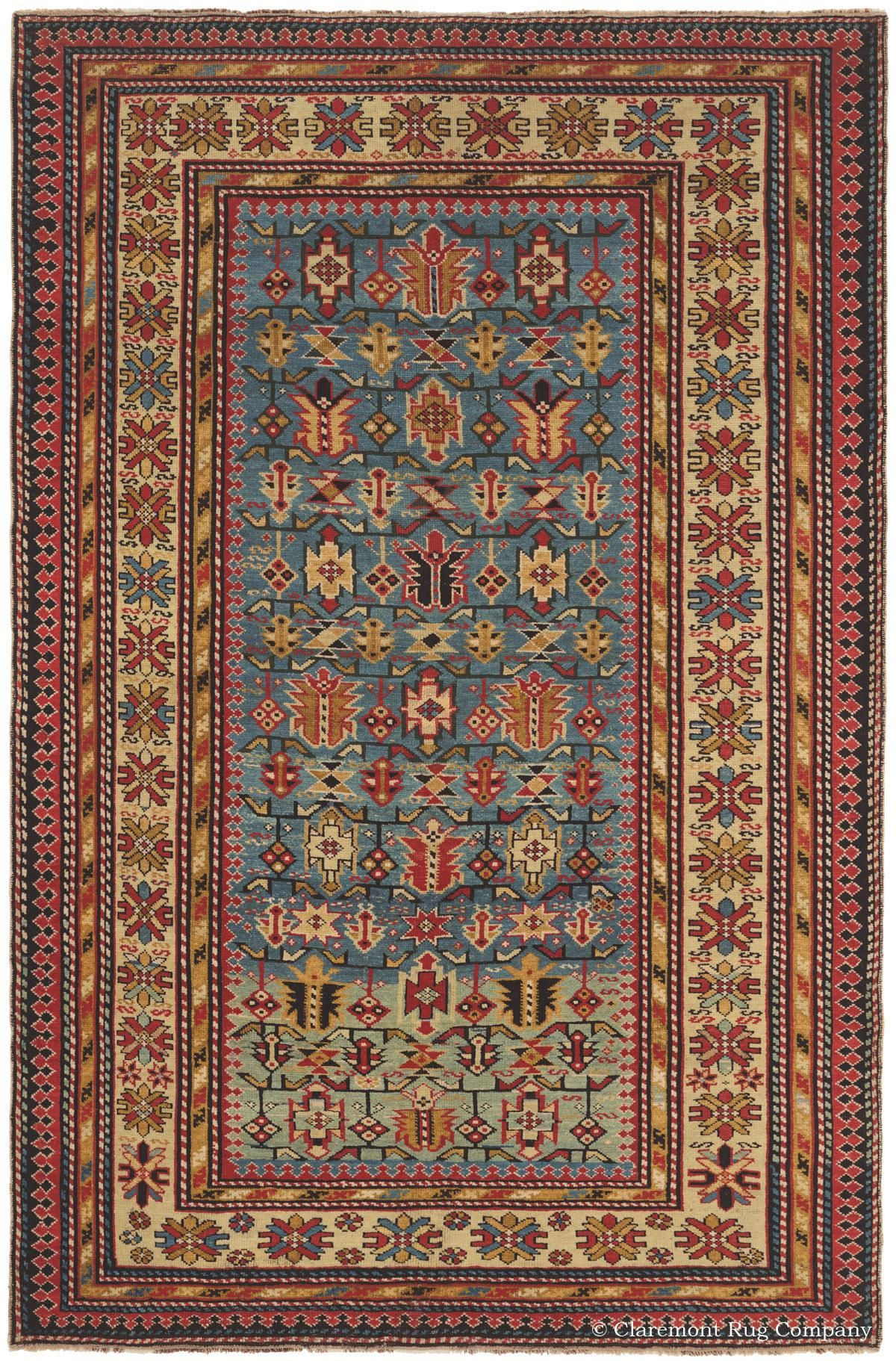Basic Overview Of Antique Collectible Caucasian Rugs And Carpets Tapis Textiles Oriental