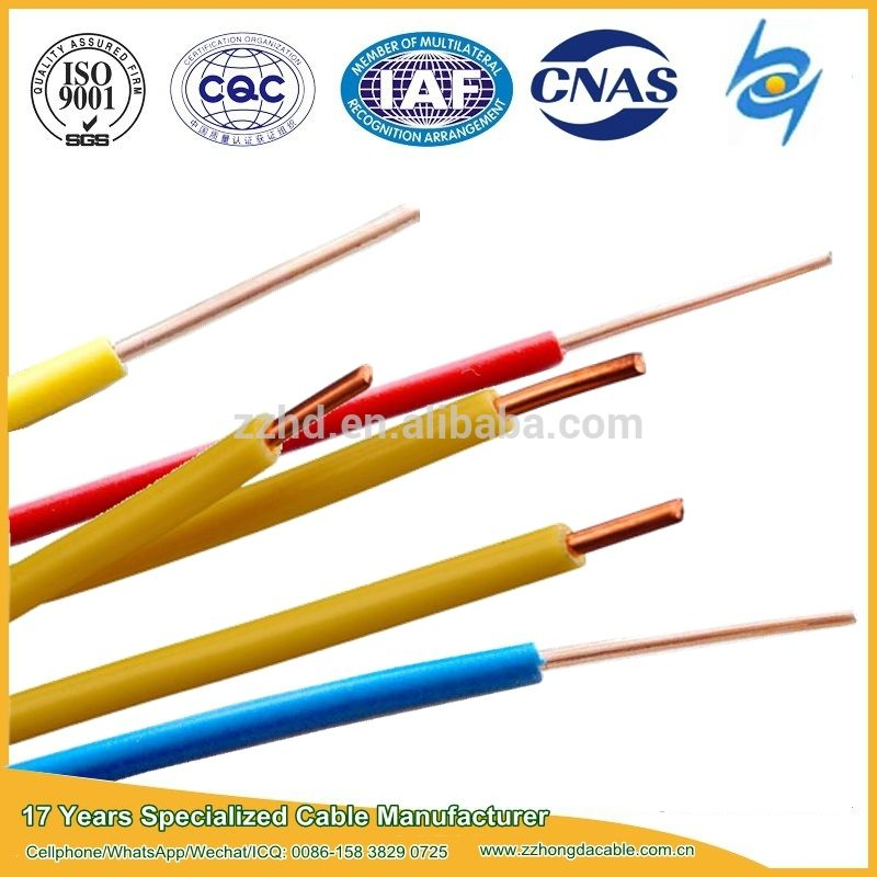 450/750v 4000roll Single Core Electric Wire For Building - Buy ...