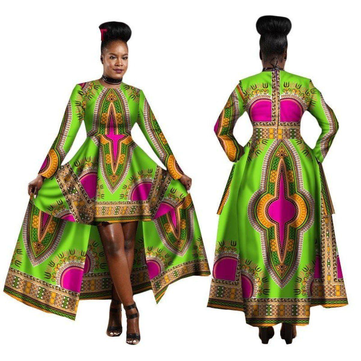 African Clothing For Women Dashiki Cotton Wax Print Batik