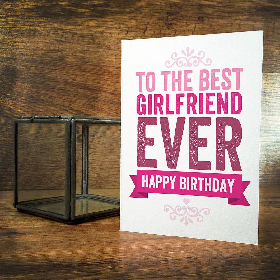 Best Birthday Wishes For Girlfriend Romantic Romantic Birthday