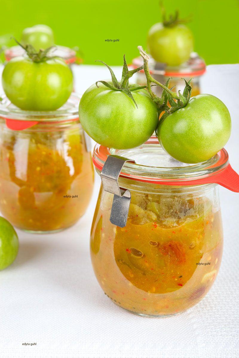Himmlisches Chutney von grünen Tomaten – mein-dolcevita.de