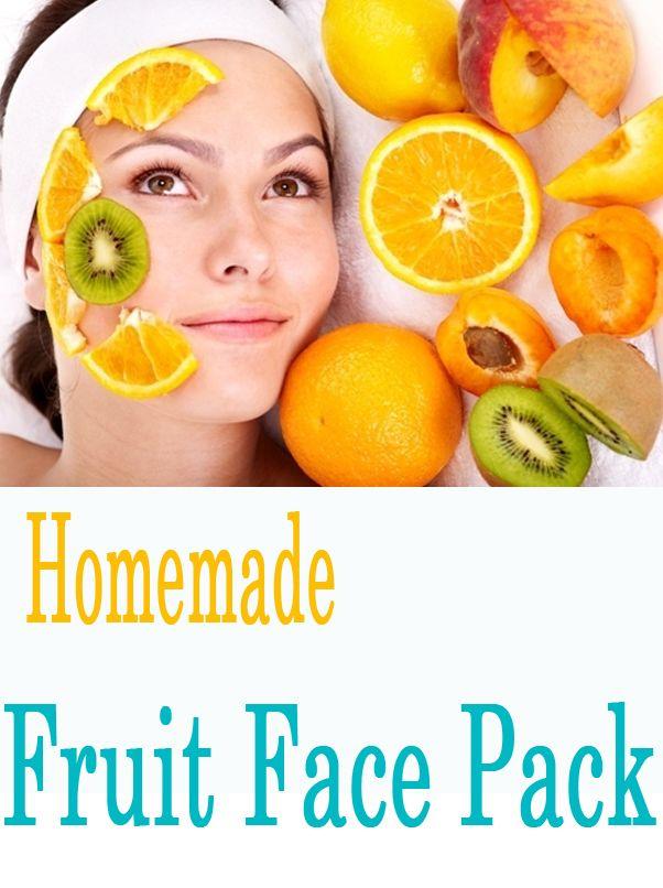 Easy fruit facial masks