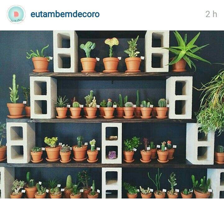 Estante para plantas decoraci n y arquitectura - Estantes para plantas ...