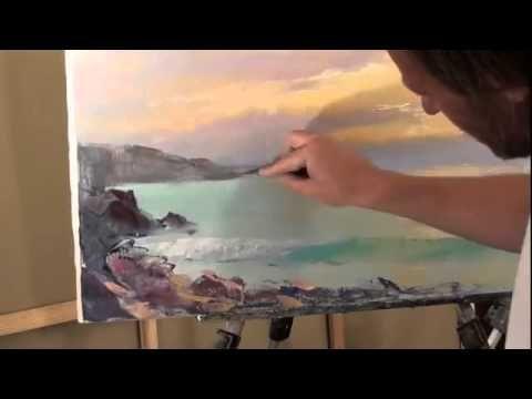Un Tutoriel Video Sur Sakharov Coucher De Soleil Sur La Mer Mer