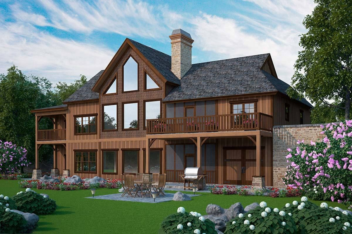 Big Dogtrot House Plan In 2019 House Plans Dog House Plans