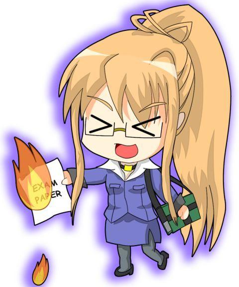 Burning-eyed Shana · download Shakugan no Shana image