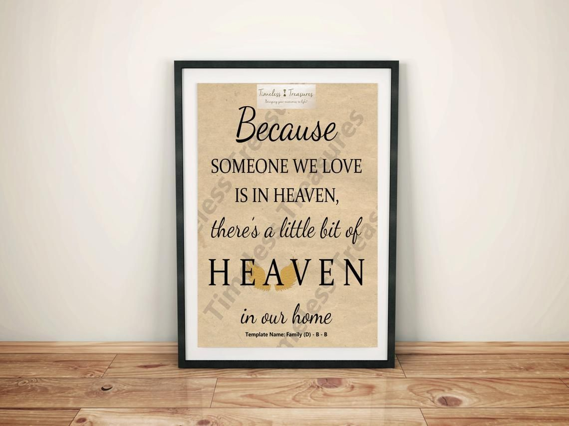 Family D Someone In Heaven Digital Download Instant