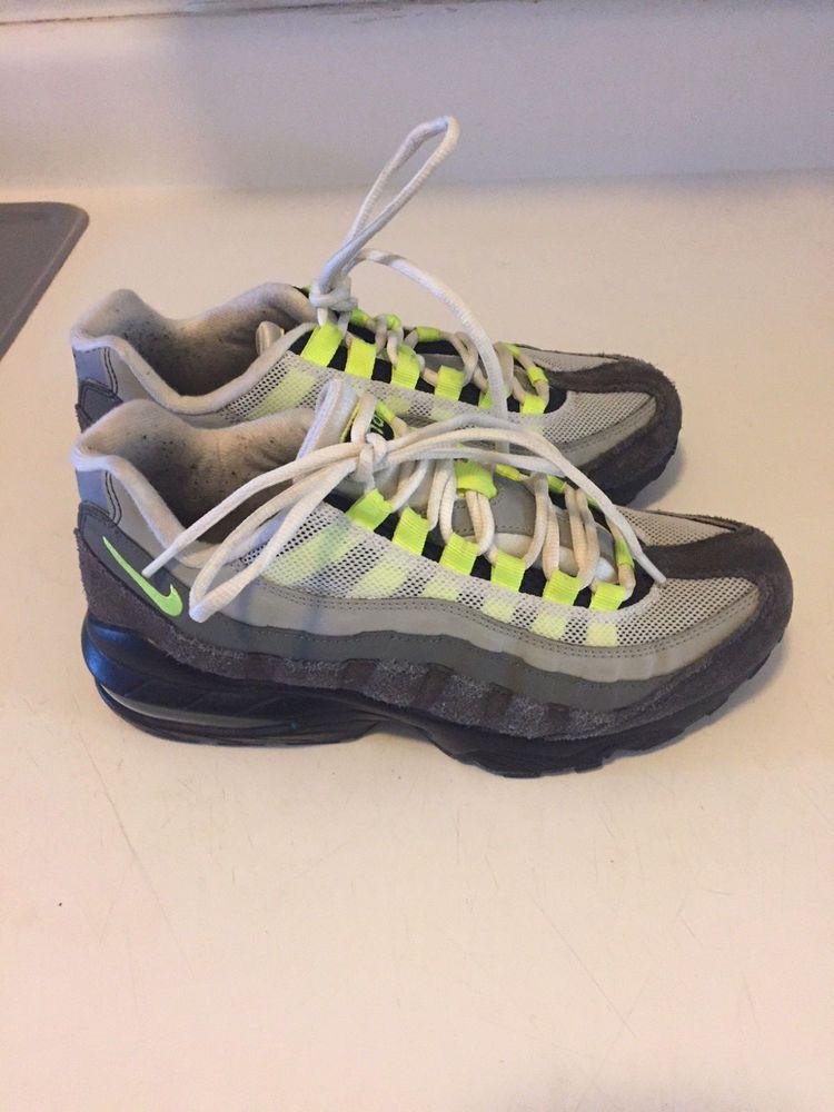 Nike Airmax Stylefashion 95 6y In Green 8 Womensback Neon edCrxWBo