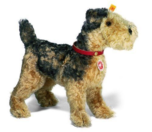 New Steiff Classic 1935 Fellow Terrier 12 Puppy Plush Toys