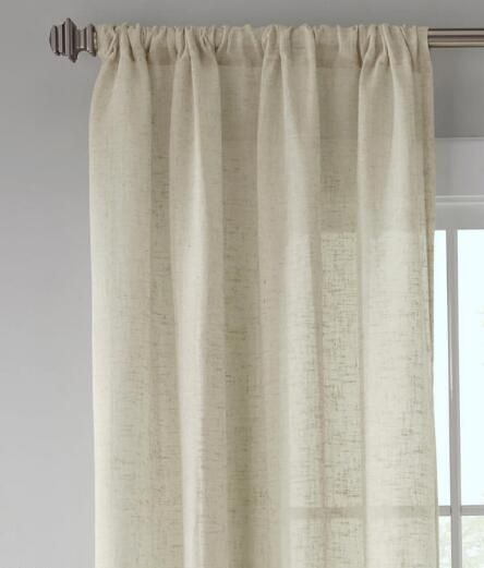 ideas sheer linen affordable modern white home faux orchid curtain panel curtains