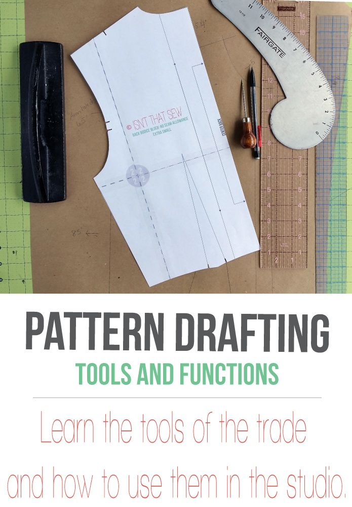 Pattern Drafting Basic Tools And Their Function Sewing
