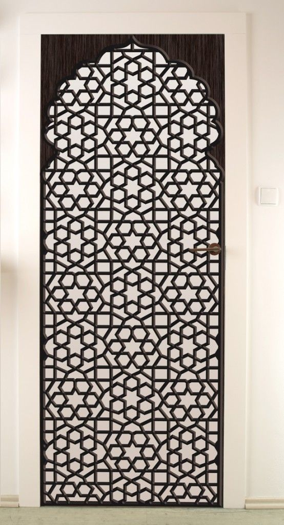 stickers de porte oriental inspi pinterest moucharabieh oriental et deco orientale. Black Bedroom Furniture Sets. Home Design Ideas