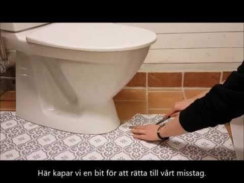 Golvvinyl Vid Toalett Youtube Bathroom Floor Coverings