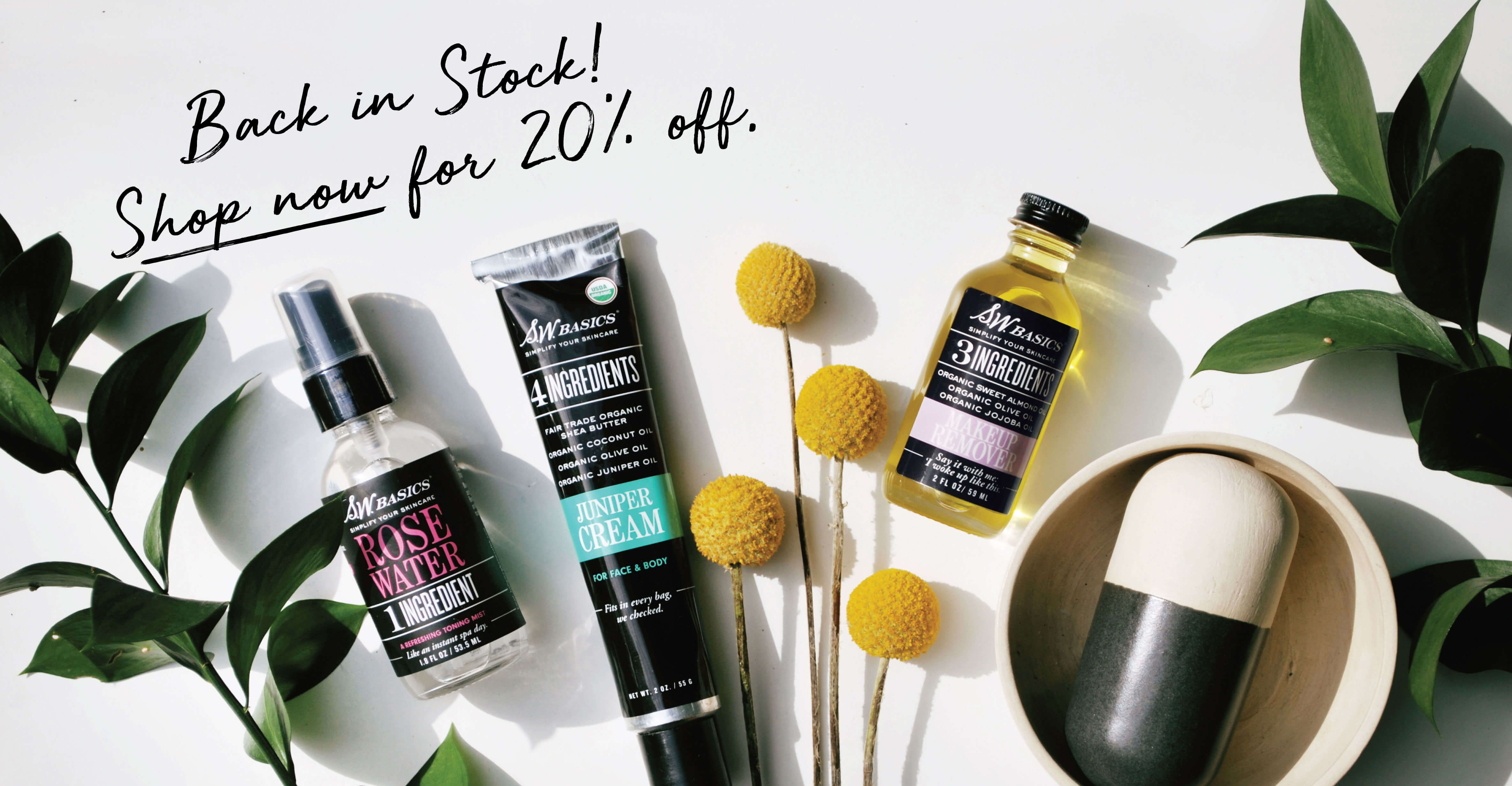 Truly allnatural, sustainable skincare from Brooklyn, New