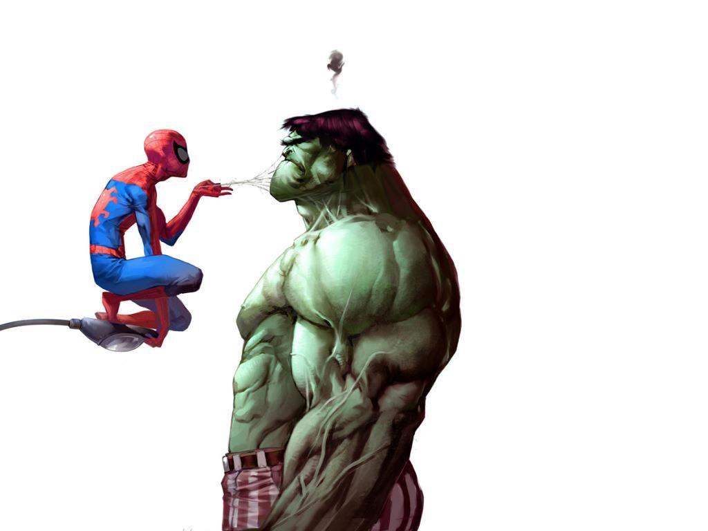 hulk vs spiderman buscar con google