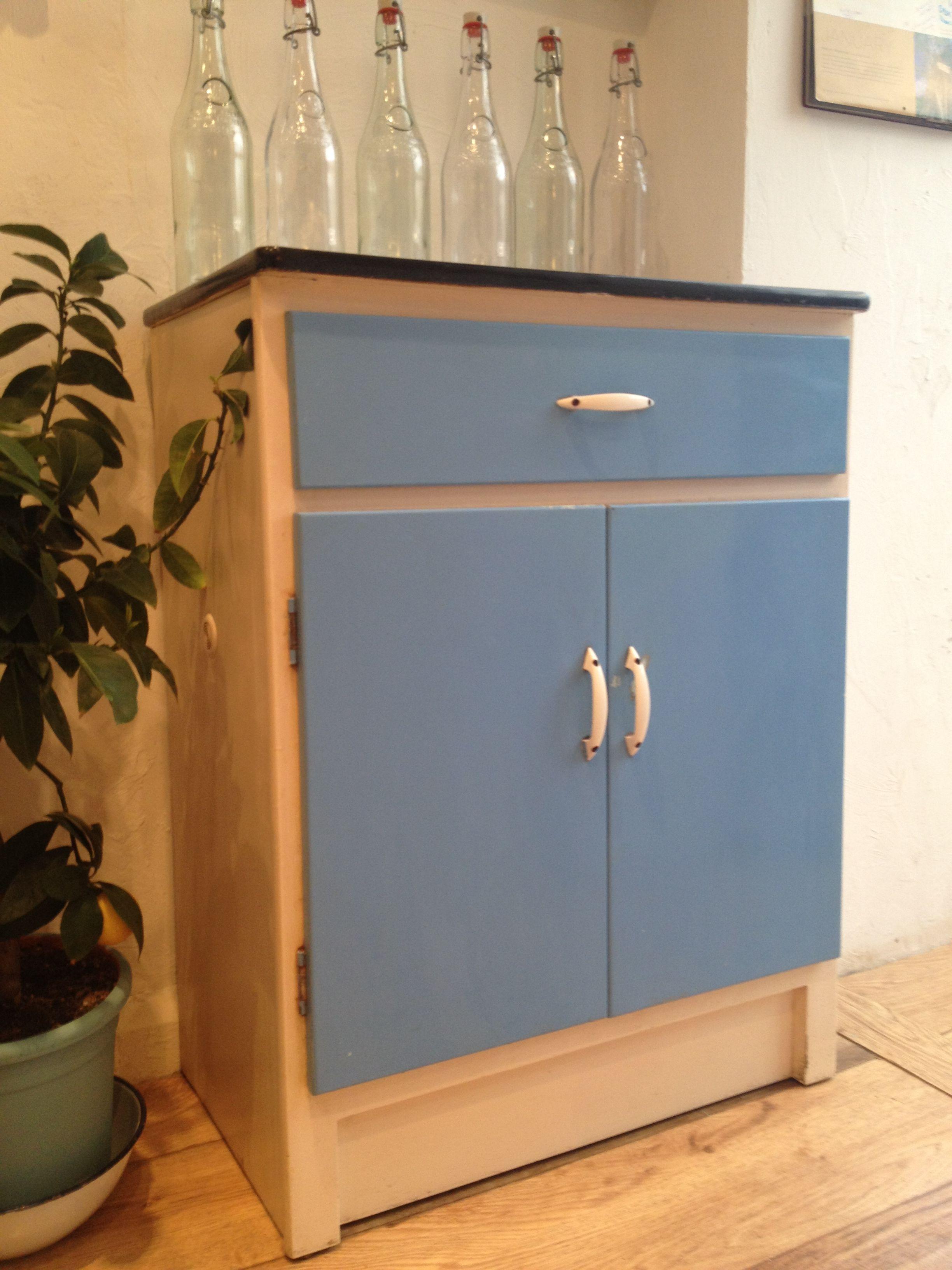 Retro 1960 S Kitchen Cupboard Original Formica Handles Black Strip And Colour 110 Please Contac Vintage Furniture For Sale Kitchen Cupboards 1960s Kitchen