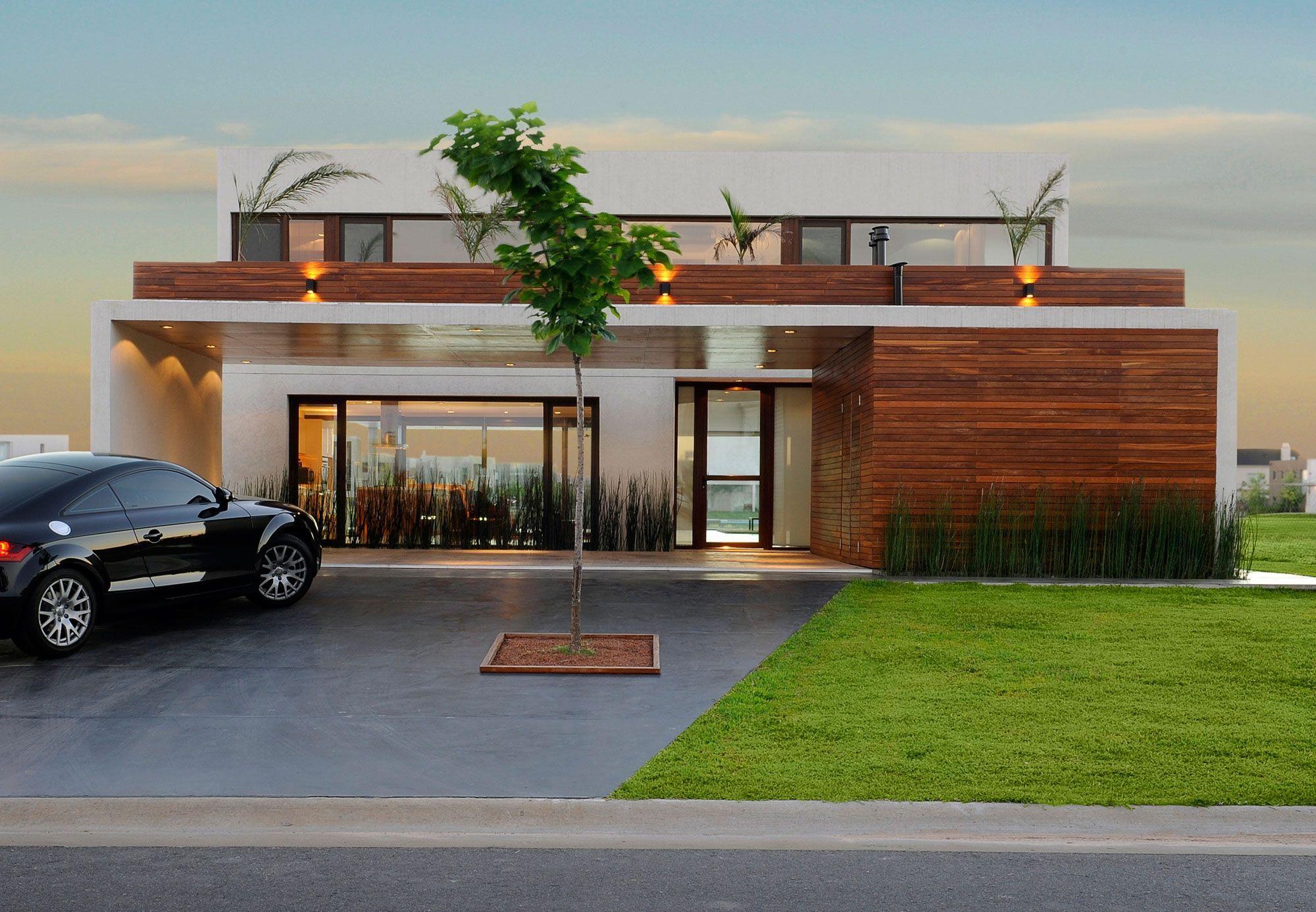 Architecture wonderful modern lake house design large yard green