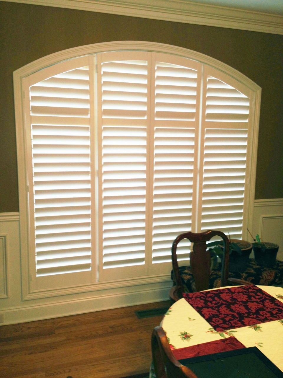 Wood Blinds for Arched Windows in 2020 Blinds for arched