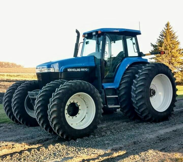 New Holland 8970 Fwd New Holland Tractor New Holland Ford Ford