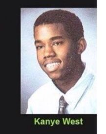 Kanye West Celebrity Yearbook Photos Yearbook Photos Yearbook Pictures