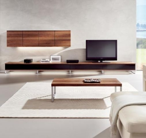 Modern Wall Units For Living Room: 32 Stylish Modern Wall Units For Effective Storage