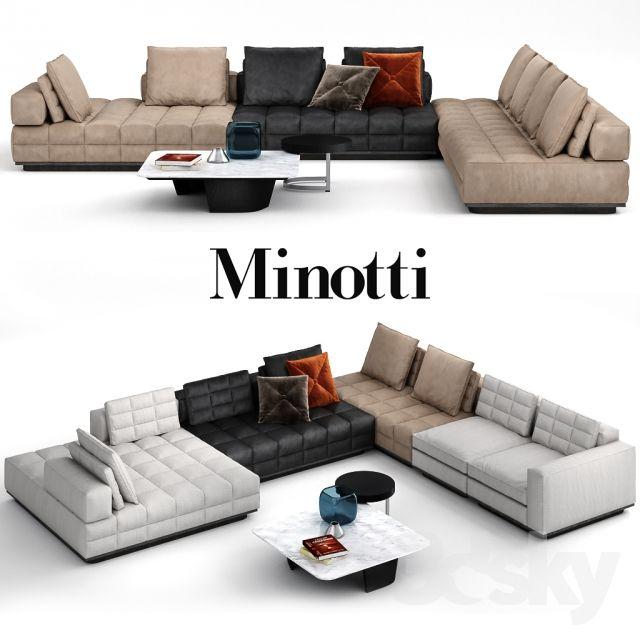 Lawrence Sofa Clan Modular System By Minotti Sectional Sofa Layout Sofa Sofa Design