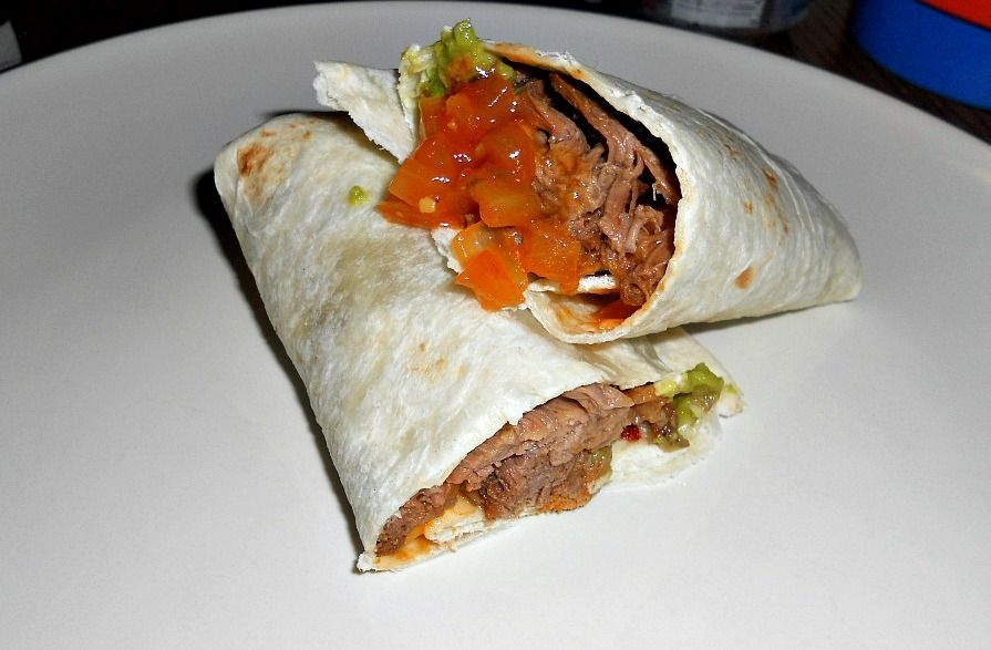 #FoodFunHop :: Brisket Tacos by http://hezzi-dsbooksandcooks.blogspot.com/