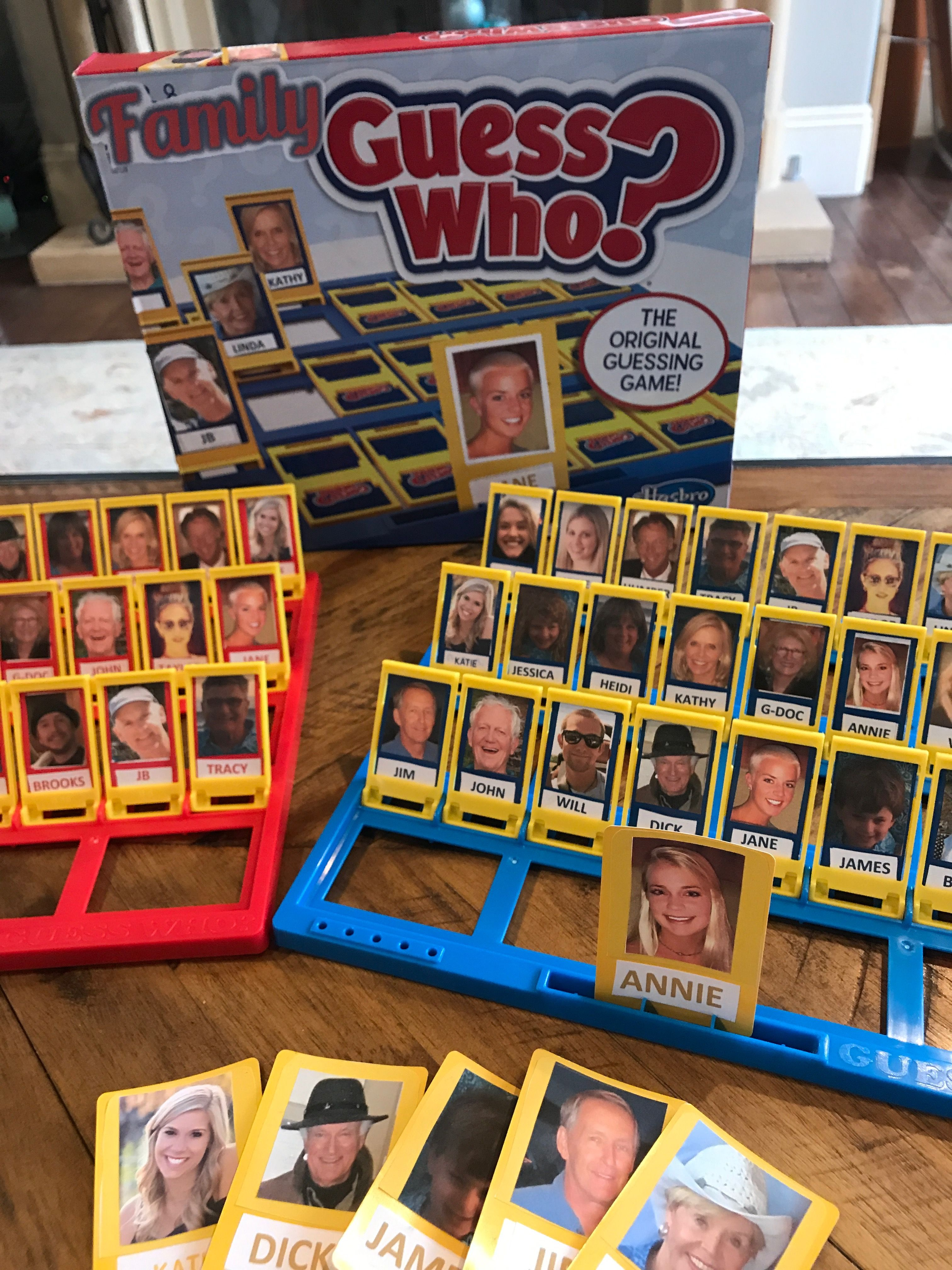 Personalized Family Guess Who Game (With images