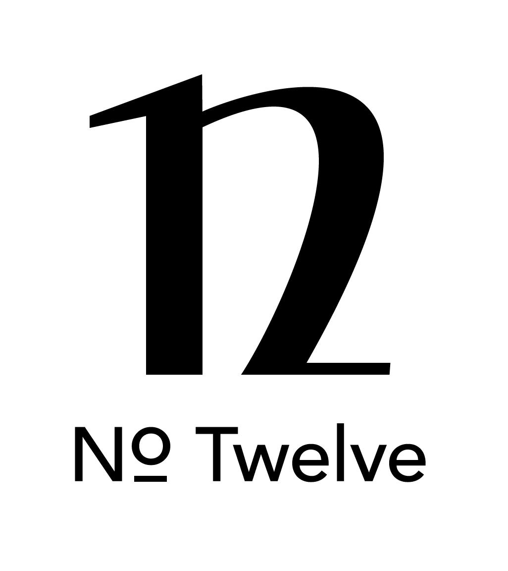No Twelve Logo Logo Number Logo Design Logo Inspiration