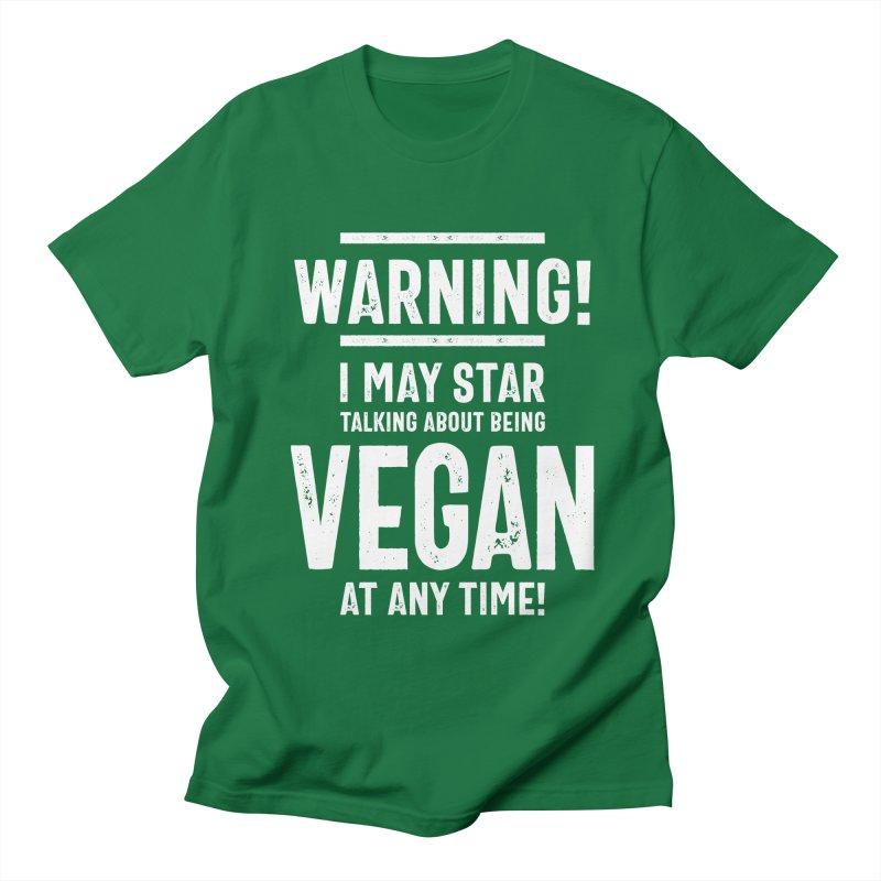 Warning May Start Talking About Science Womens Ladies Funny Slogan T-Shirt