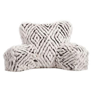 Faux Fur Lounge Around Pillow Cover Pbteen Pillows