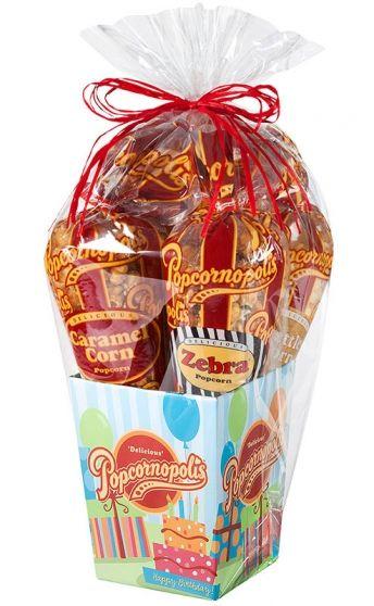 BIRTHDAY 5 Cone Birthday Gift Basket