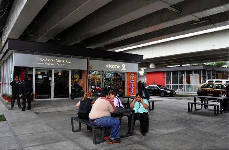 Citys Bajo Puentes Program Turns Vacant Lots Under Freeways into Prized Public Spaces  Mexico Citys Bajo Puentes Program Turns Vacant Lots Under Freeways into Prized Publ...