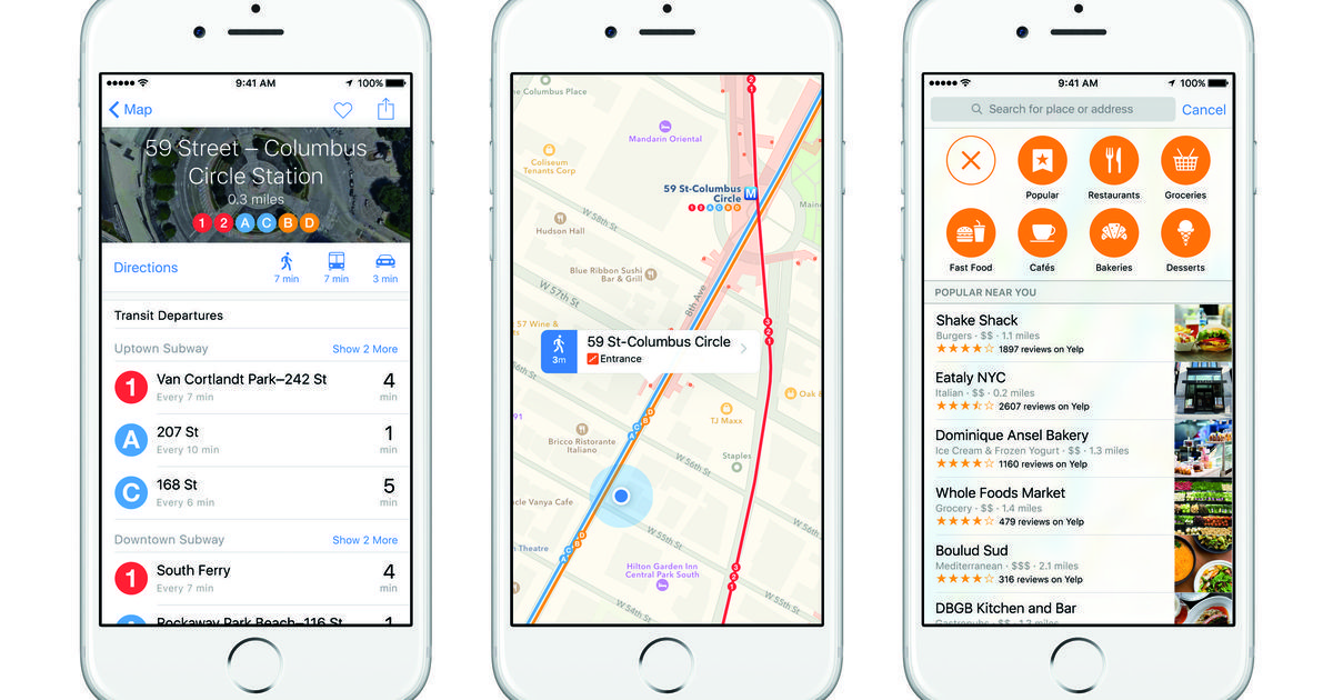 Why an old iPad can't get iOS 9 transit directions Apple