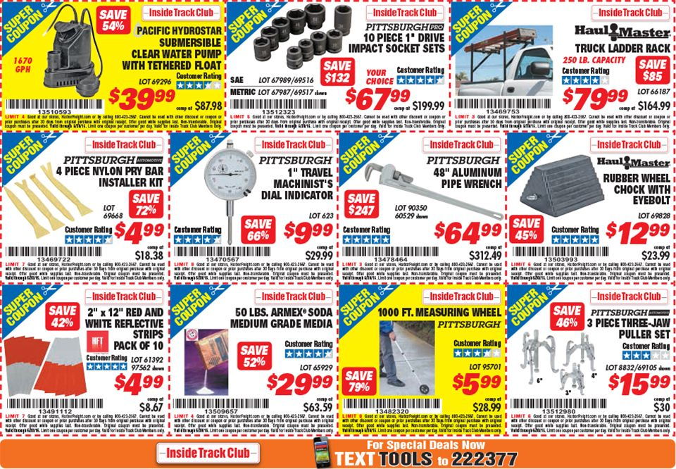 Products With Images Harbor Freight Coupon Ladder Rack Ladder Rack Truck