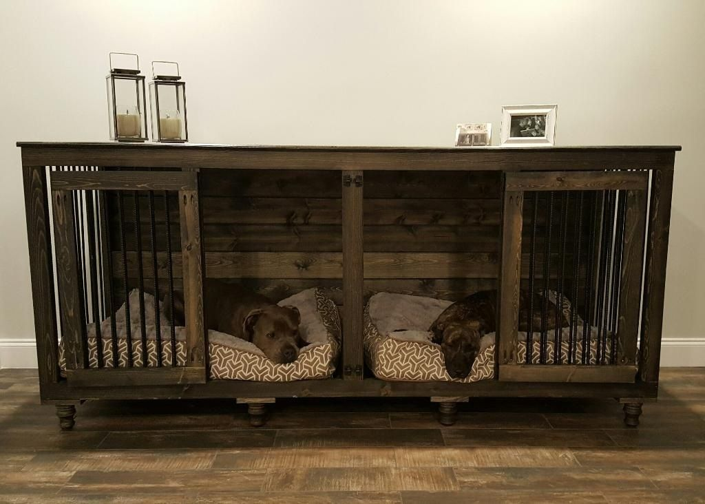 Wooden Crate Furniture Large Dog Midl Regarding Crates Inspirations 4
