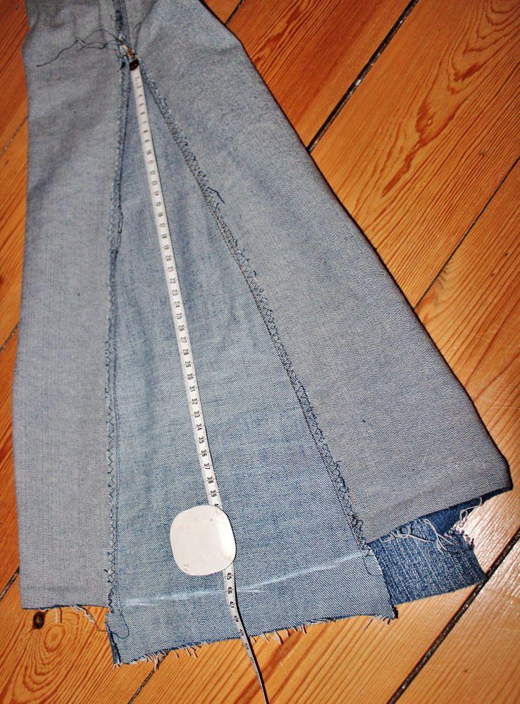 refashion schlaghose n harbeiten hippie jeans. Black Bedroom Furniture Sets. Home Design Ideas